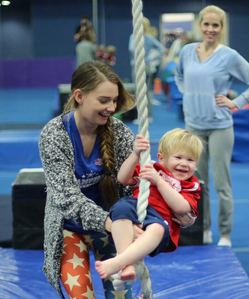 Kid Spark Preschool Gymnastics